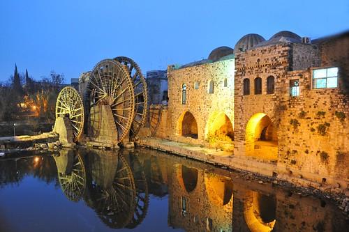 Hama, Syria: nories