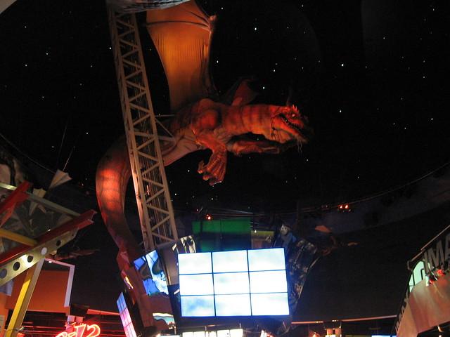 dragon in movie theatre in west edmonton mall flickr