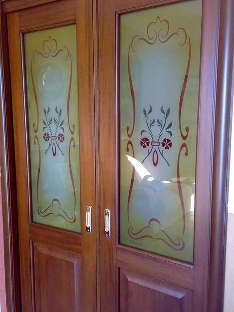 Vetri artistici per porte e finestre - Vetri termici per finestre ...