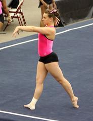 TWU Gymnastics Floor - Amy Winczura