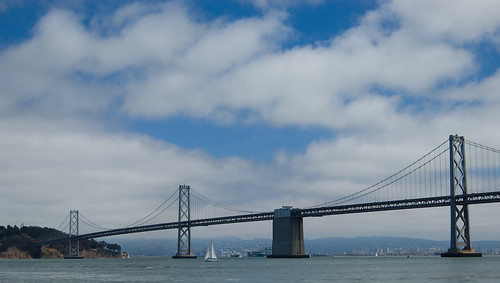 Bay Bridge from Ferry Plaza