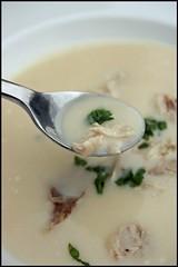 Soupe de poulet (chicken soup)