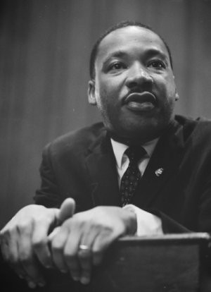 Martin Luther King, Jr. 1964 (source: Library of Congress) from Flickr via Wylio