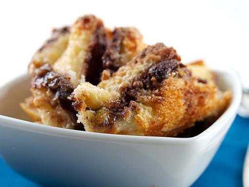 Raspberry Nutella Bread Pudding | Raspberry Nutella Bread Pu ...
