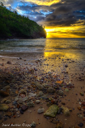 world trees sunset sea cloud beach water st coral clouds bush sand rocks surf waves cloudy cove land lucia caribbean hdr photomatix flickraward buhlers crayok