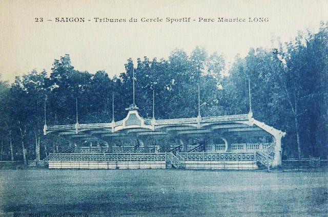 SAÏGON - Tribunes du Cercle Sportif - Parc Maurice LONG