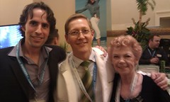stephanepage posted a photo:	With Glenn product specialist and Martha brand new Executive at Kick-Off in Orlando
