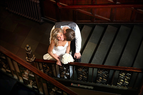 Aurielle and Josh ~ Romance on the Stairwell