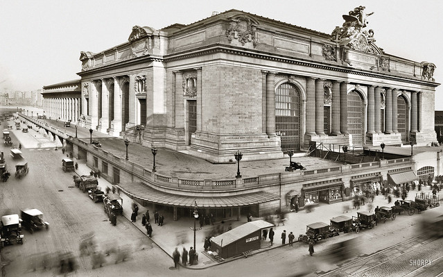 Grand Central Station Nearing Comletion  circa 1913