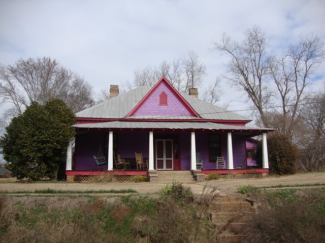 Purple Home in Havana, AL