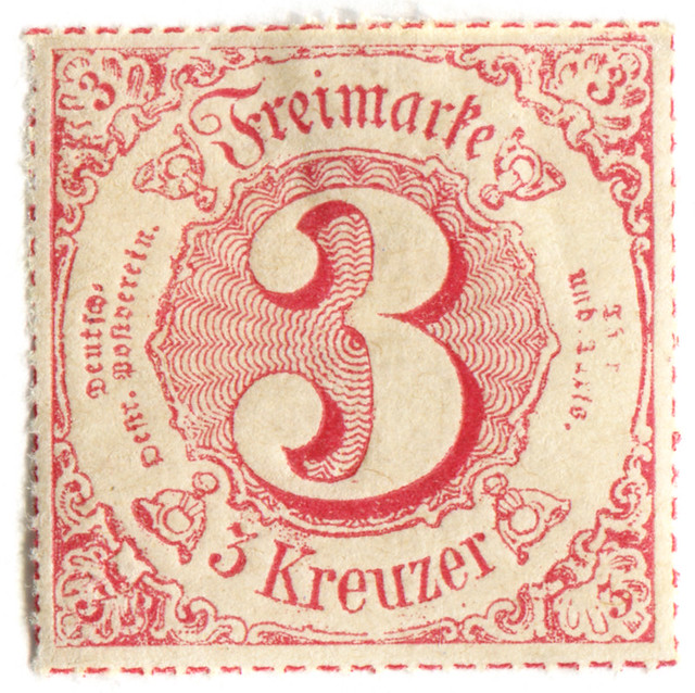 Angle Finder App >> German State postage stamp: Thurn and Taxis | Flickr - Photo Sharing!