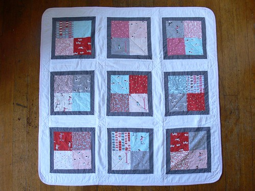 Tutorial: Charming Baby Quilt