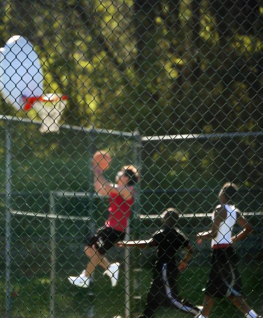Basketball Court in Alpharetta Public Park - Spring 2011