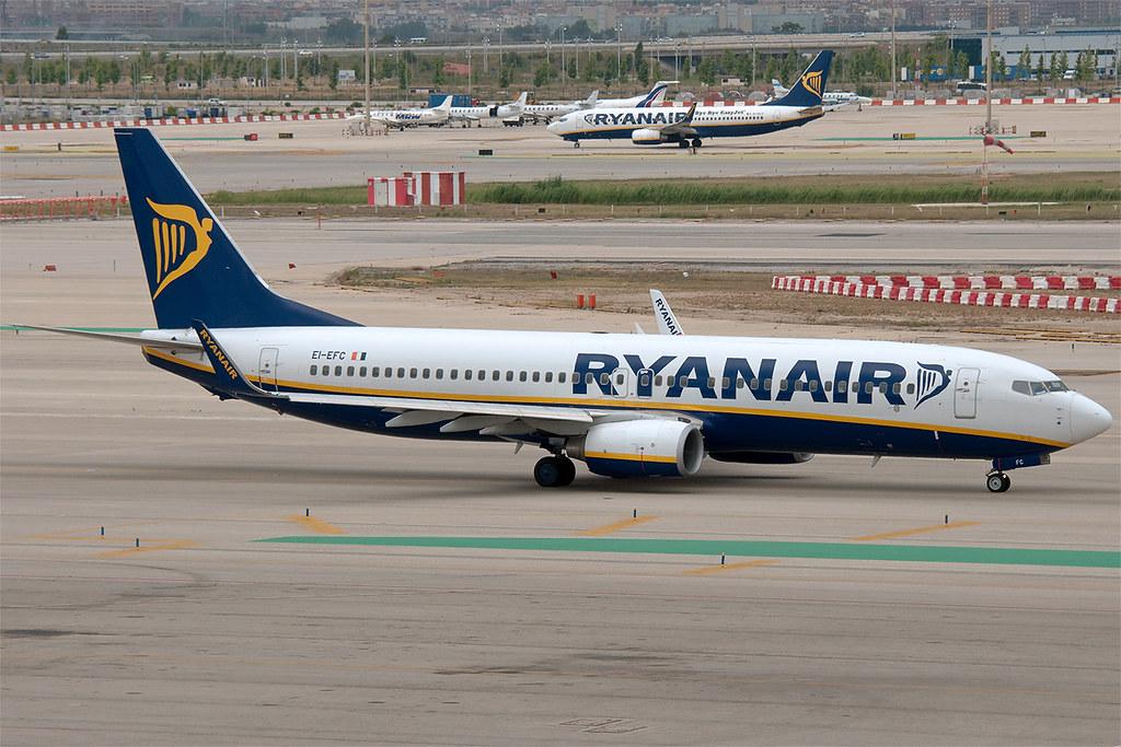 EI-EFC - B738 - Ryanair