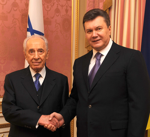 President Peres on official visit to the Ukraine, November 2010 | by IsraelMFA