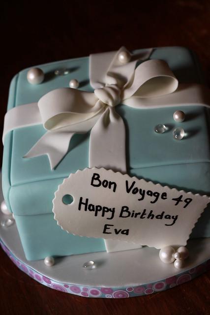 Tiffnay's gift box cake