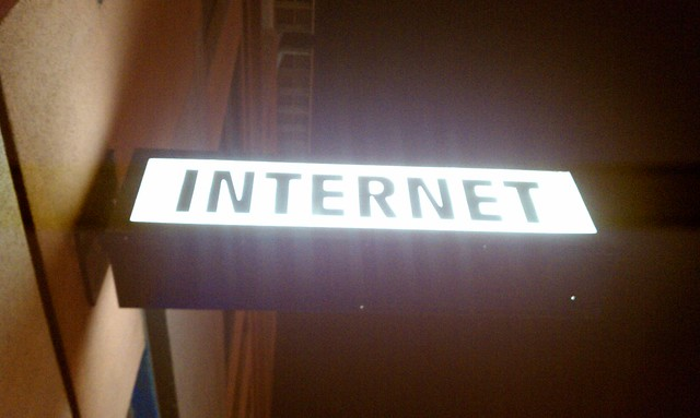 I found the internet!