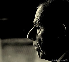 portrait of an old men