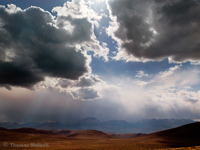 Dissipating Storm, Bodie Hills, September 2010