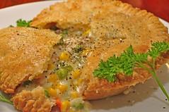 Mmm... chicken pot pie!