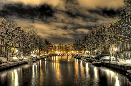 schnee wallpaper water amsterdam clouds photoshop canals grachten hdr keizersgracht gracht arlette 3xp photomatix mywinners abigfave dgawc ringexcellence dblringexcellence