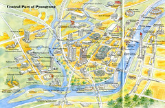 urban design, map, residential area, plan,