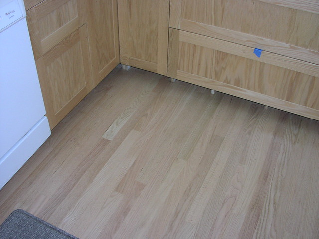 Unstained Red Oak Floor Cabinets Flickr Photo Sharing