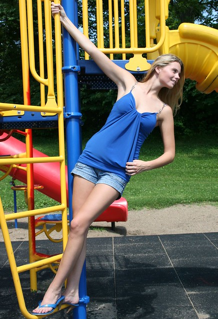 Tall Blonde Woman Model Flickr Photo Sharing