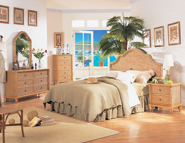 Tropical Bedroom Furniture Sets Antiqua Tropical Wicker Bedroom Set FWF XL B Picture Flickr Photo