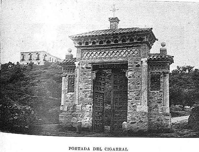Cigarral el Bosque de Toledo. Fotografía publicada en la Revista Toledo en febrero de 1929