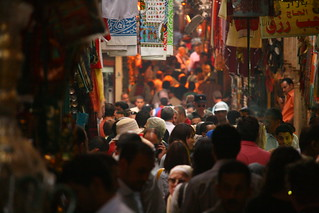 Bustling in the Souk