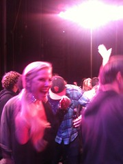 Me Dancing On Stage at MC Hammer's concert at Harrah's Tahoe.