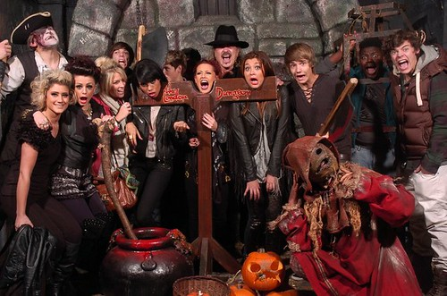 X factor Stars at the London Dungeon