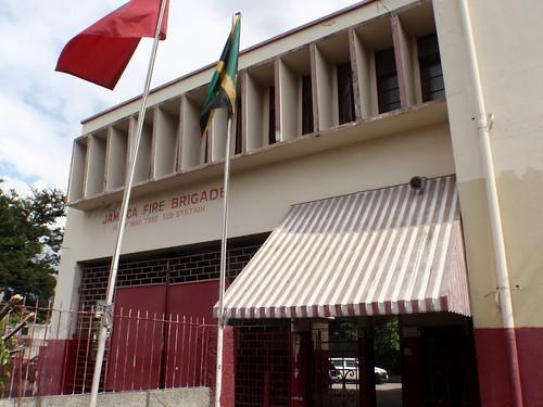 kingston jamaica firestation jfb hwt halfwaytree jamaicafirebrigade