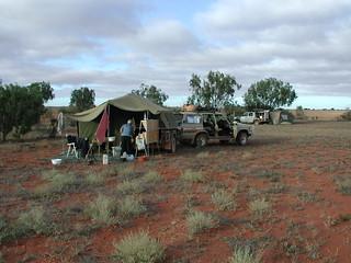 Batts Camp 30deg Lat N of Cook