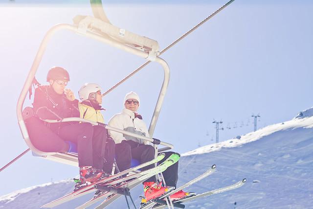 Chairlift &  Ski