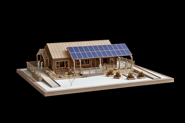 Team Massachusetts' Solar Decathlon 2011 Design Development Model