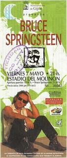 Bruce Springsteen. Gijón 1993