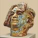Tête de Balzac d'Auguste Rodin ©dalbera