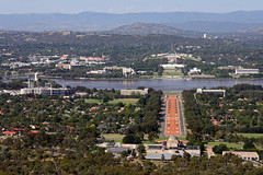 Canberra from Mt Ainslie