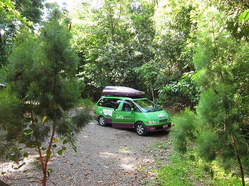 nasz camper w środowisku naturalnym