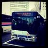 Photo:岡電バス。すみません回送中です、だって。 By vlayusuke