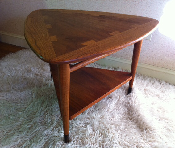 Lane furniture 1960 s guitar pick end table flickr for How to pick furniture