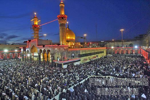Maula Ali Shrine Wallpaper: Imam Ali Mosque Najaf Iraq