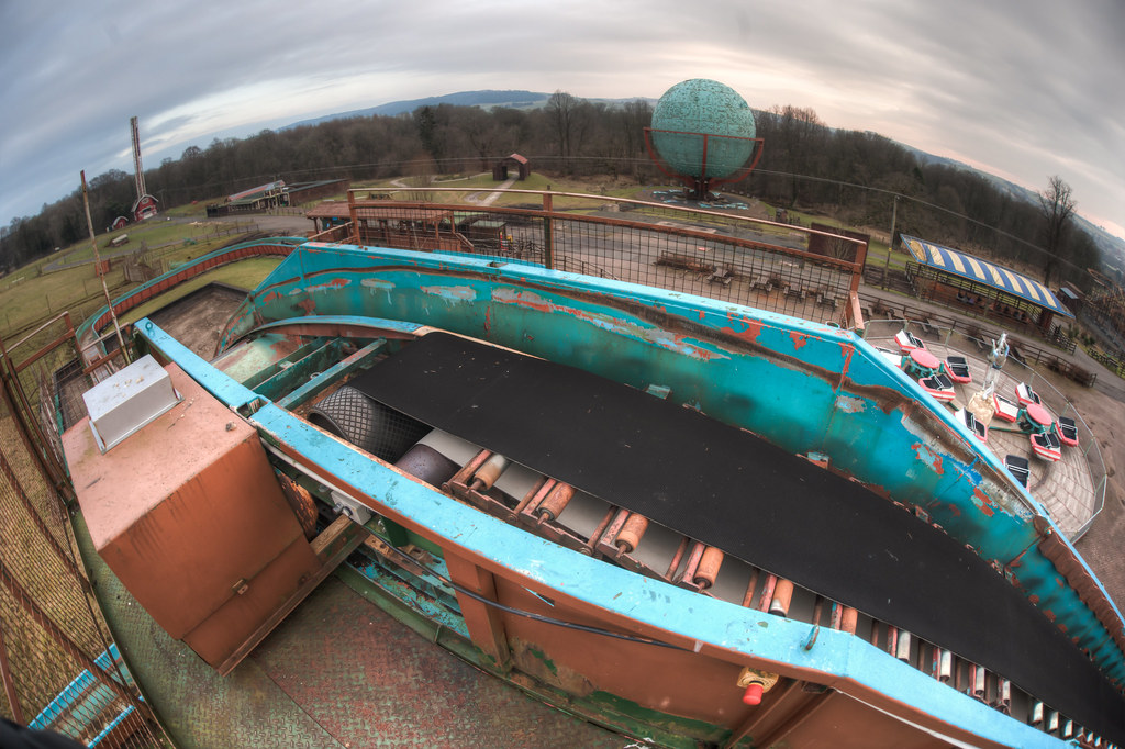 Top of the flume