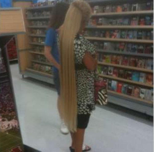Walmart shoppers caught on camera for pinterest