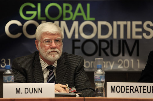 Commissioner Michael Dunn, U.S. Commodity Futures Trading Commission (CFTC) at Global Commodities Forum