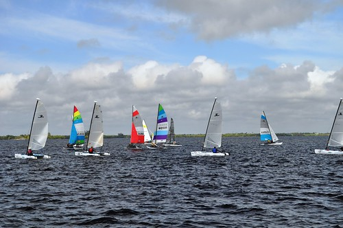 Scene from 2011 Charlotte Harbor Regatta, Florida