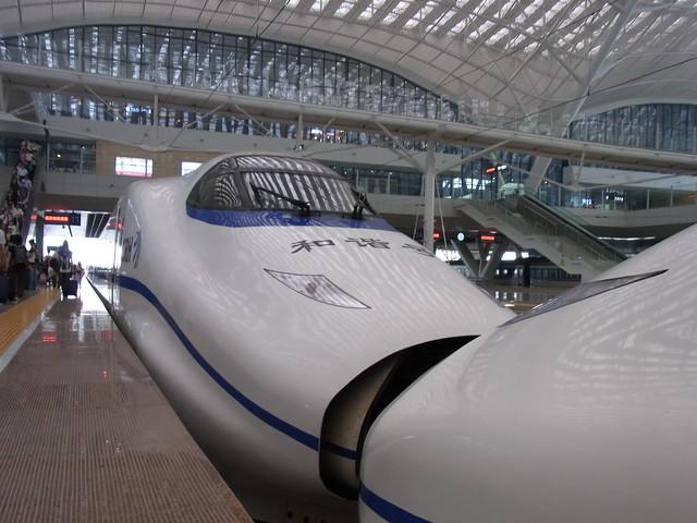 China Railway CRH2 high speed train