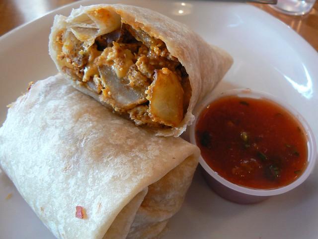 Breakfast Burrito With Chorizo, Potato, And Egg Recipes ...